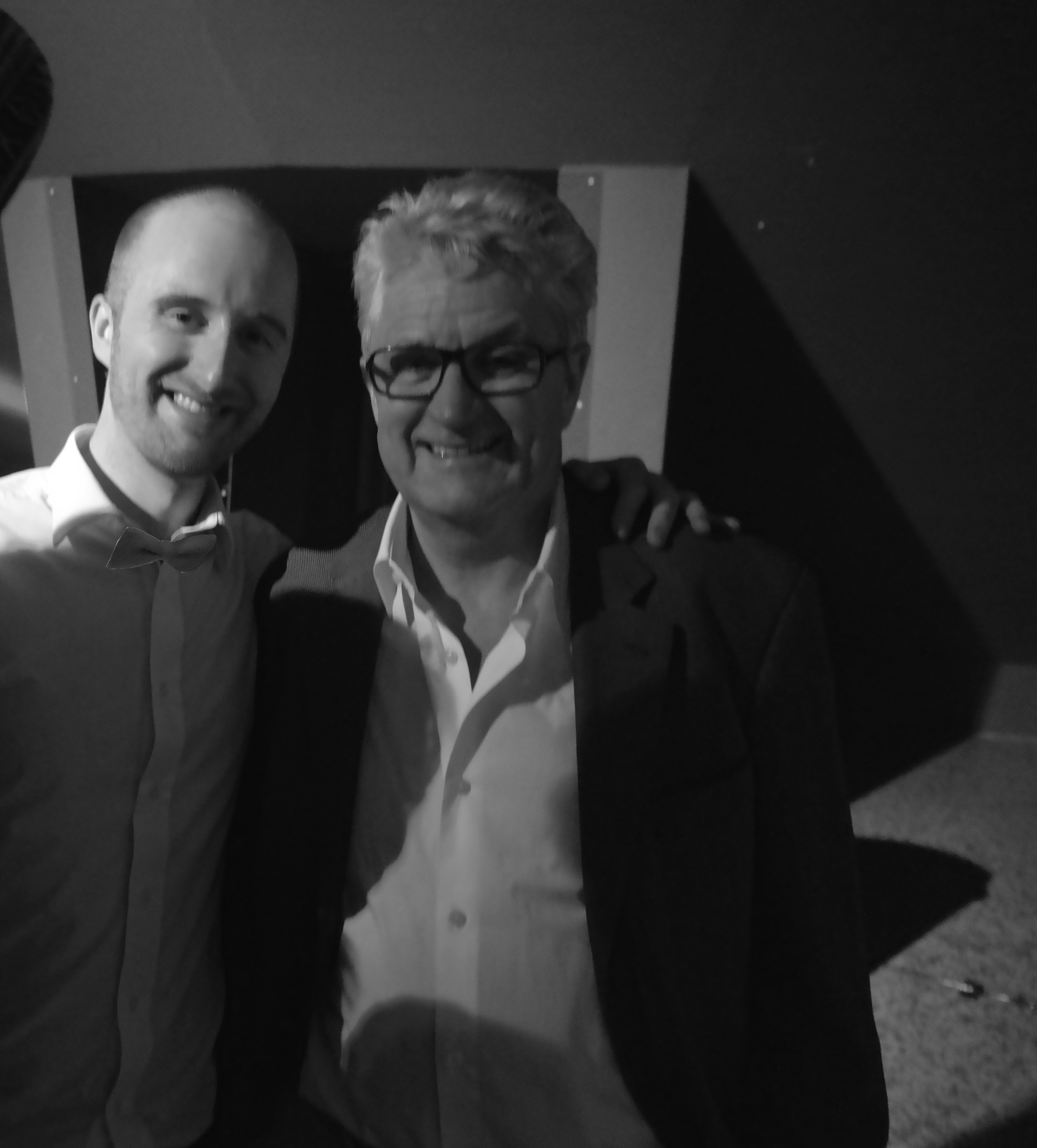 Festival Awards / Insights' Tom Lawson and Melvin Benn