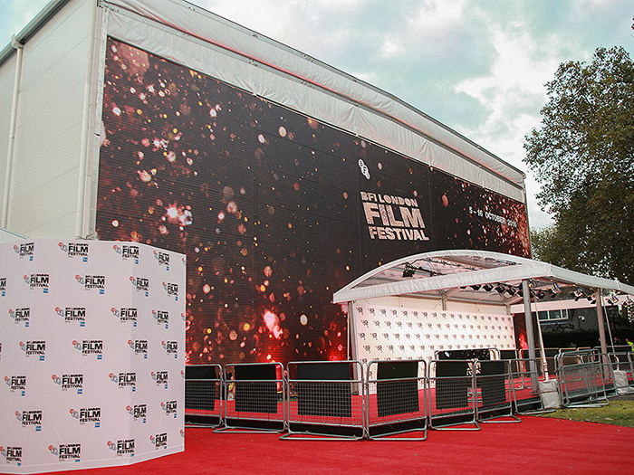 quality design 71738 d08e7 UK  Arena Group designed and installed London s largest temporary cinema  venue in Victoria Embankment Gardens last month, forming part of the 60th  ...