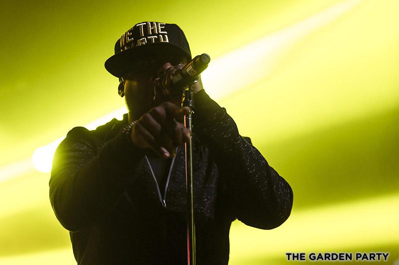 Talib Kweli at The Garden Party. Photo credit: Gary Brown.