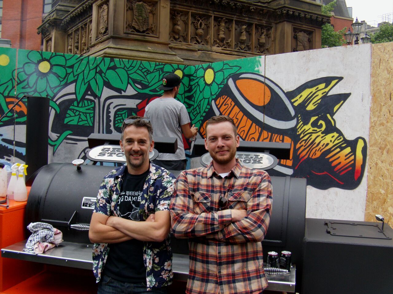 Grillstock co-founders Jon Finch and Ben Merrington