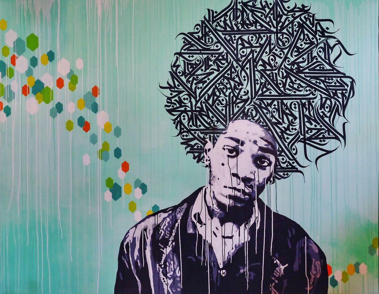 Jean-Michel Basquiat by Yann Chatelin